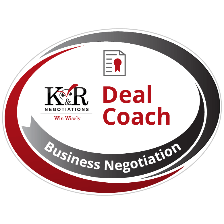 Negotiation Deal Coach Badge