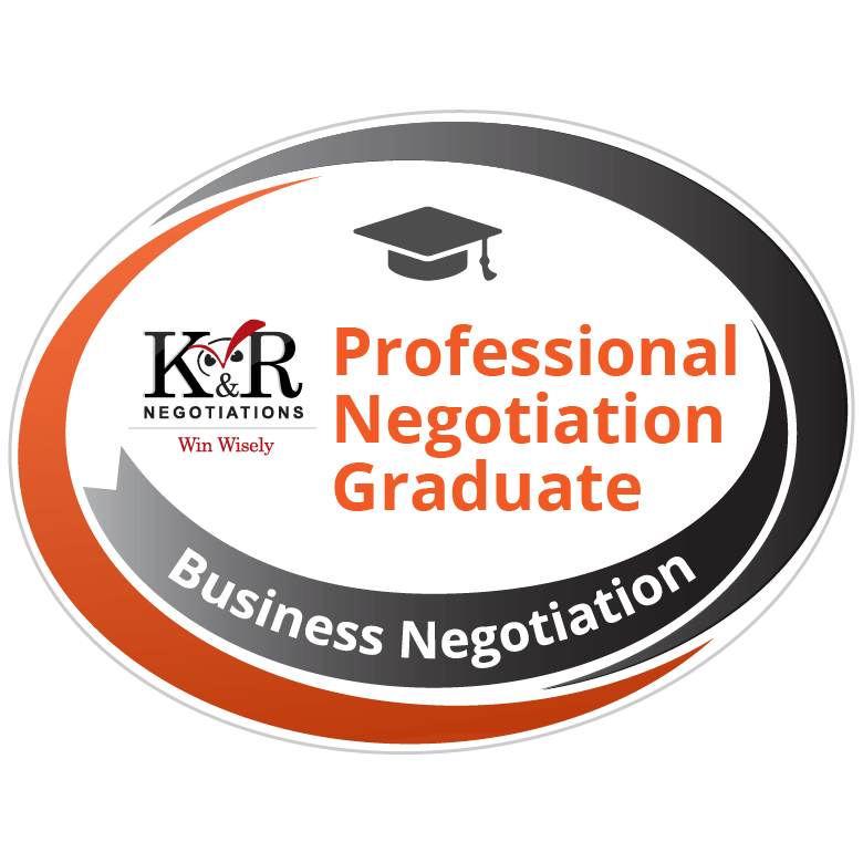 Professional Negotiation Graduate Badge