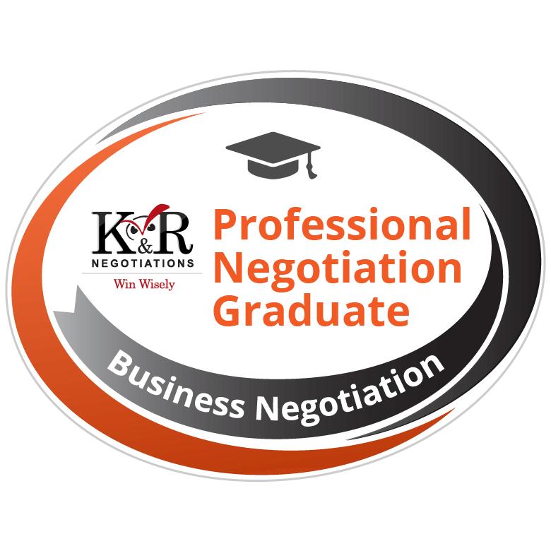 Professional Negotiation Graduate Badge