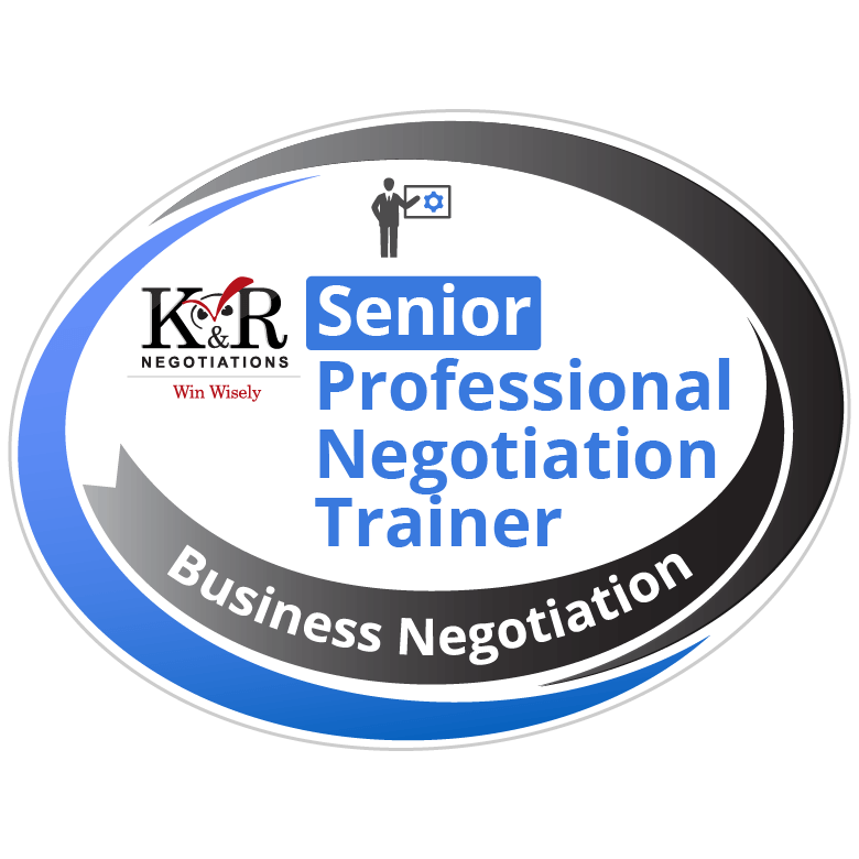 Senior Professional Negotiation Trainer Badge