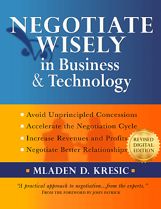 business negotiation book